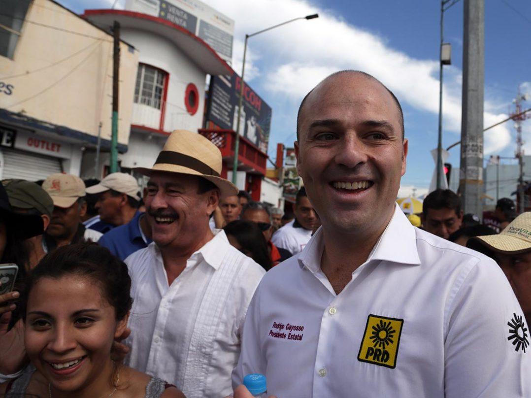 El PRD elige a hijo de Graco como candidato a la gubernatura de Morelos