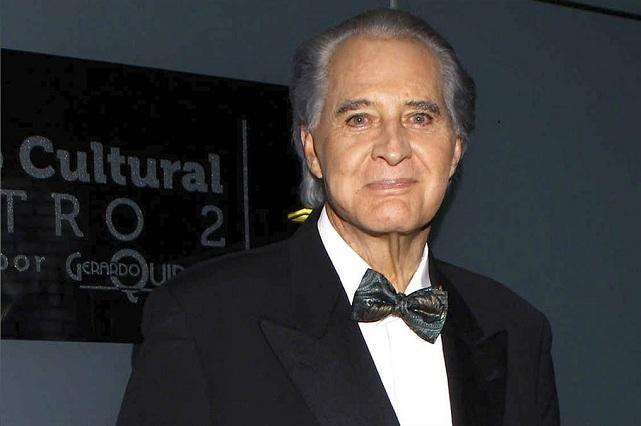 Luto en el espectáculo: Murió el actor Rogelio Guerra a los 81 años
