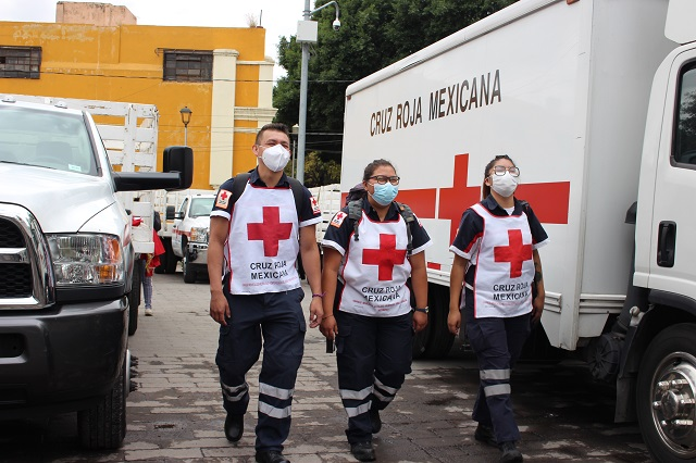 Cruz Roja Mexicana renueva Consejos en Tehuacán e Izúcar