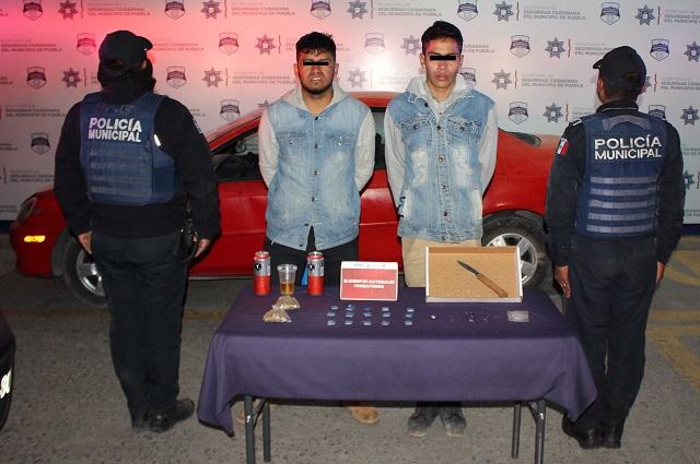 Atrapan a El Rojo, presunto líder narcomenudista en Puebla