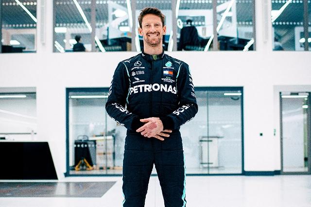 Romain Grosjean volverá a pilotar auto de F1 con Mercedes