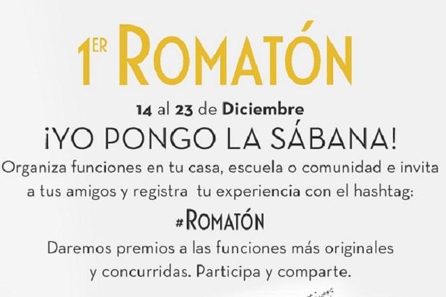 ¡Que todo México vea Roma! Organizan el 1er Romatón