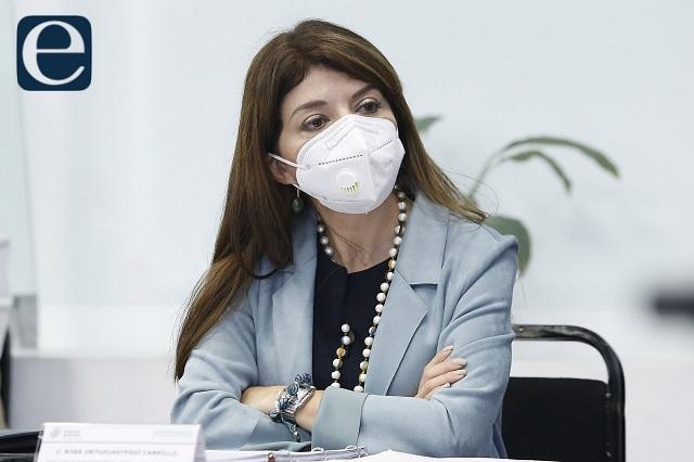 Se va Rosa Urtuzuástegui de la Secretaría de Administración