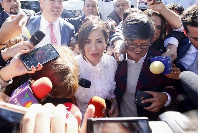 Hasta el momento no hay quejas contra juez del caso Rosario Robles