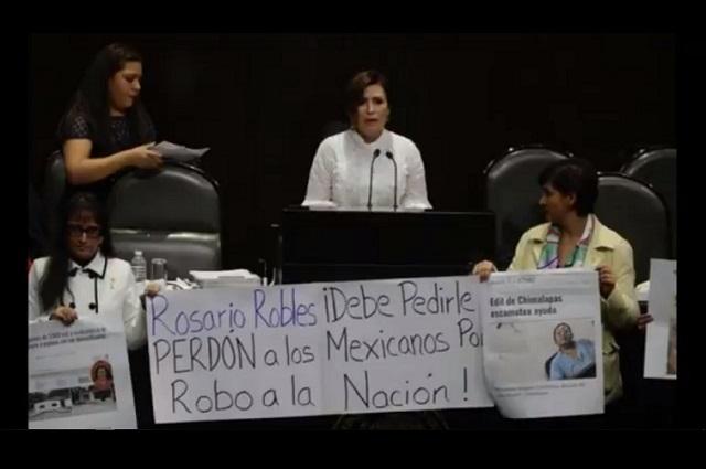 Juez podría vincular a proceso a Rosario Robles en caso Estafa Maestra