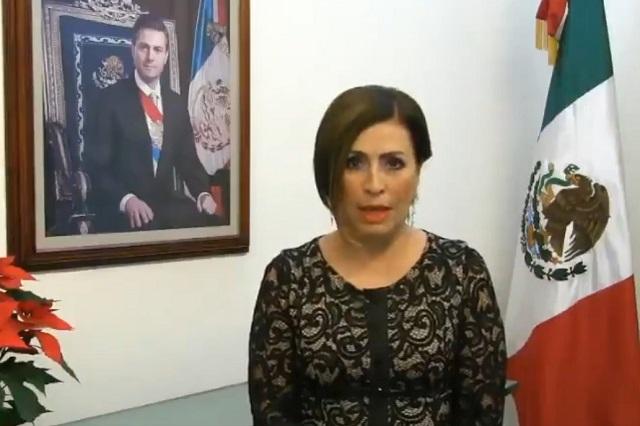 Inhabilitan 10 años a Rosario Robles por mentir sobre su patrimonio