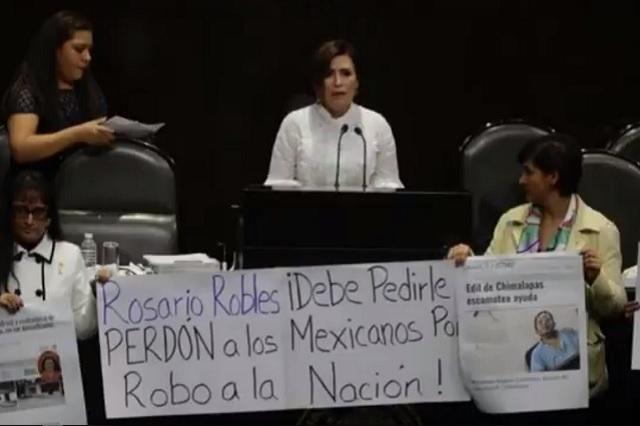FGR intentará imputar a Rosario Robles por la Estafa Maestra