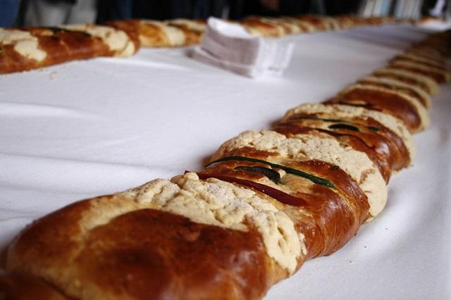 Prevén vender 7 mil roscas de Reyes en Feria Anual en Puebla