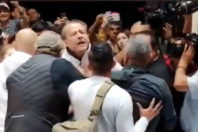 Así quedó la cara de Alfredo Adame tras agresión de Trejo