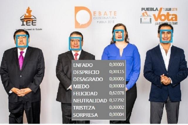¿Con qué cara llegaron los candidatos de Puebla al debate?