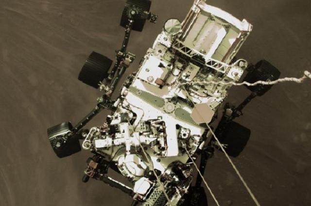 La NASA revela el primer video del Perseverance aterrizando en Marte