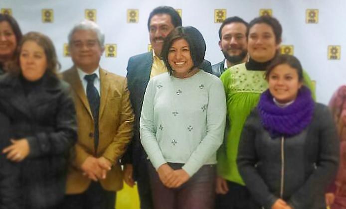 Roxana Luna es designada por el PRD candidata a la gubernatura