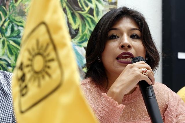 Si no tiene candidato ciudadano, ADN deja el Frente: Roxana Luna