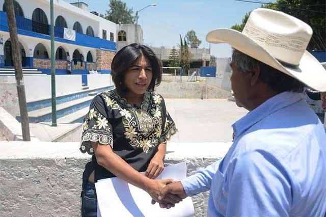 Servicio médico hasta tú casa, propone Roxana Luna