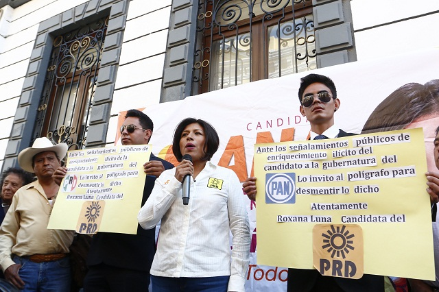 PGR debe investigar de oficio presunta riqueza de Gali: Roxana