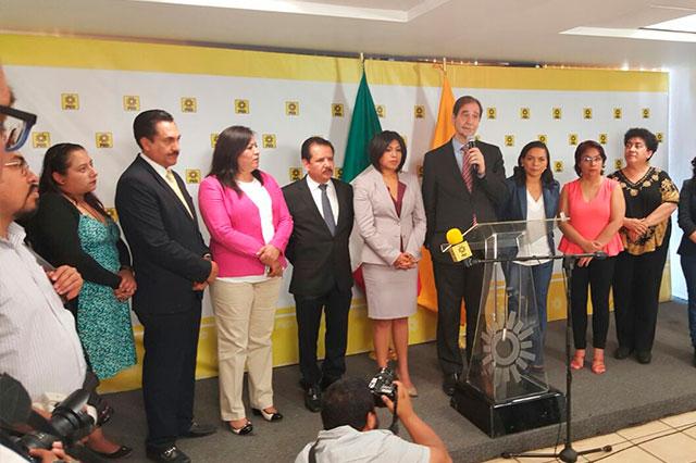 Presentan formalmente a Roxana Luna como candidata del PRD