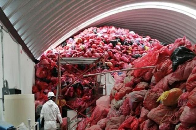 Clausura Profepa centro de acopio de residuos biológicos en Puebla