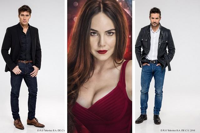 Así son los personajes de Rubí, el remake de Televisa