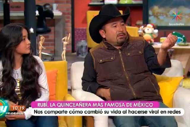 Televisa se cuelga de la fama de Rubí y la invita a la Rosa de Guadalupe