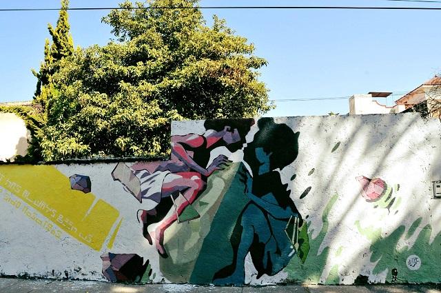 Colocan nueva piel colorida al Barrio de Santiago