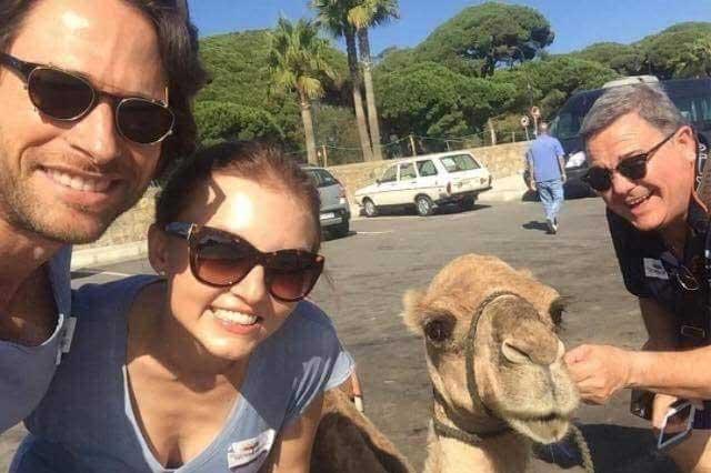 Angelique Boyer y Sebastián Rulli viajan a Marruecos