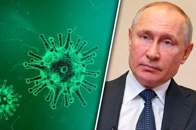 Rusia decreta semana sin labores por  ola de casos covid