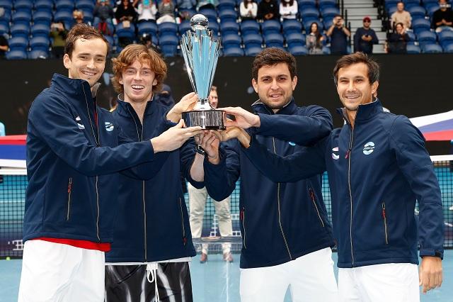 Rusia destrona a Djokovic y se corona en la ATP Cup por primera vez
