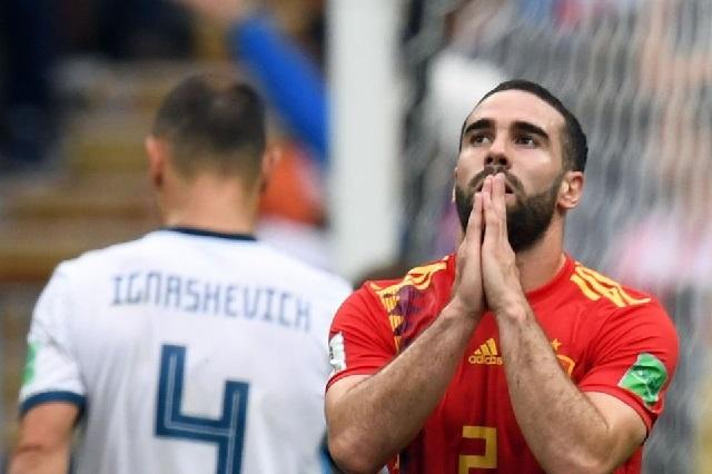España no pudo derrotar a Rusia y son eliminados en penaltis