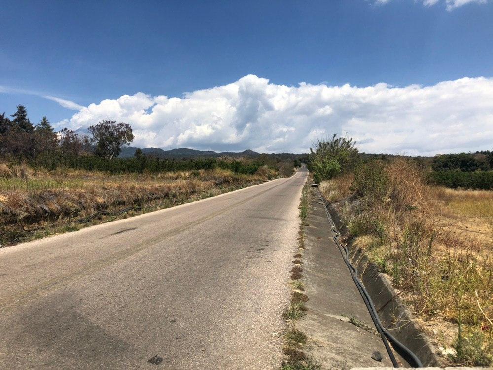 Gobierno supervisa rutas de evacuación del Popocatépetl