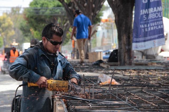 Construcción en Puebla reporta cero ingresos durante agosto