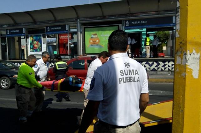 Frenón de RUTA deja 5 pasajeros heridos en la Diagonal Defensores