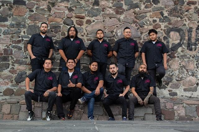 Banda mexicana Ruta Calavera presenta su segundo disco