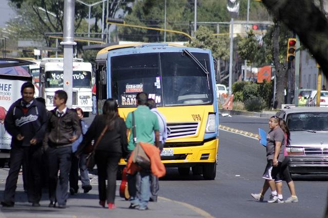 Doble grito: alza al transporte en Puebla será tras 16 de septiembre