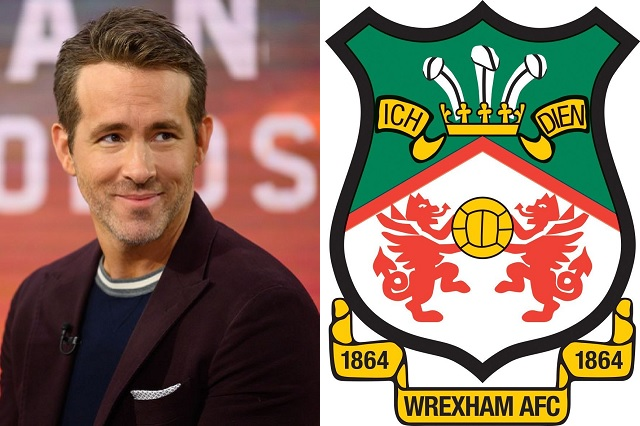 Ryan Reynolds compra al Wrexham, el tercer equipo más antiguo del mundo