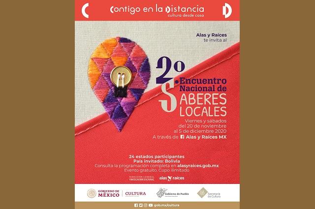 Participa Puebla en Encuentro Nacional de Saberes Locales