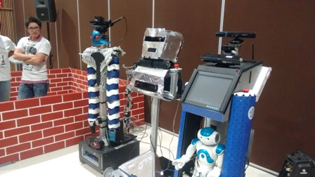 Robot del INAOE se lleva el Torneo Mexicano de Robótica