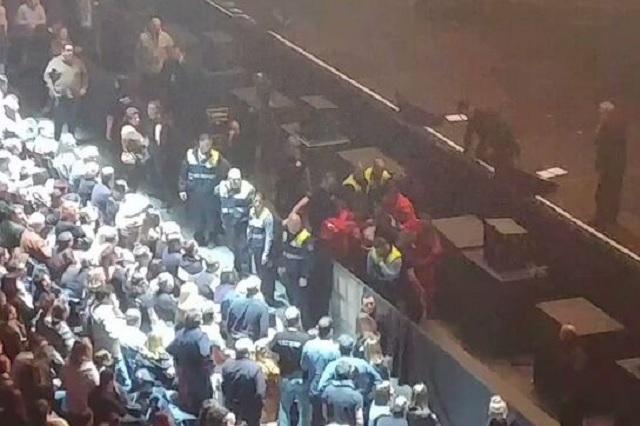 Joaquín Sabina sufre grave caída durante concierto en Madrid