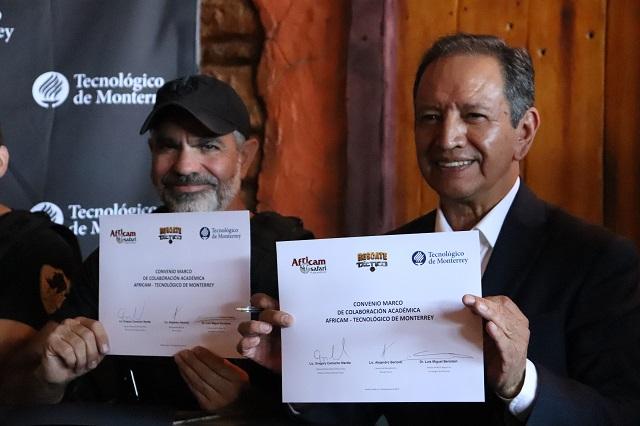 Africam Safari y Tec de Monterrey al rescate de rinocerontes africanos