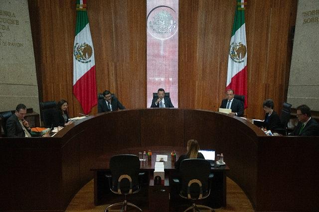 Por un voto, libran sanciones del TEPJF Armenta y Jiménez Merino