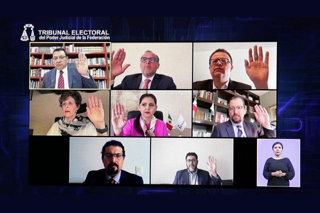 Desecha TEPJF quejas contra selección de consejeros del INE