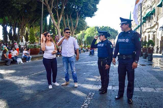 Saldo blanco en Semana Santa, reporta Ayuntamiento de Puebla