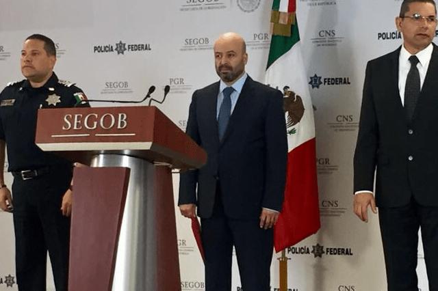 Renato Sales precisa que El Z-43 fue detenido en la colonia Roma de la CDMX