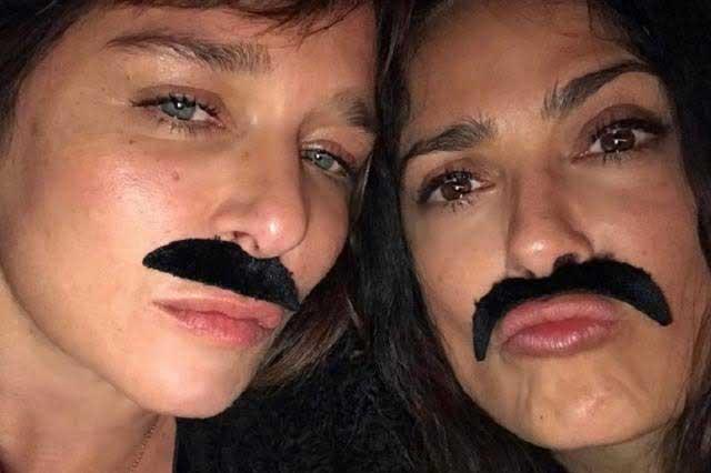 Salma Hayek se porta muy mal y lo presume en Instagram