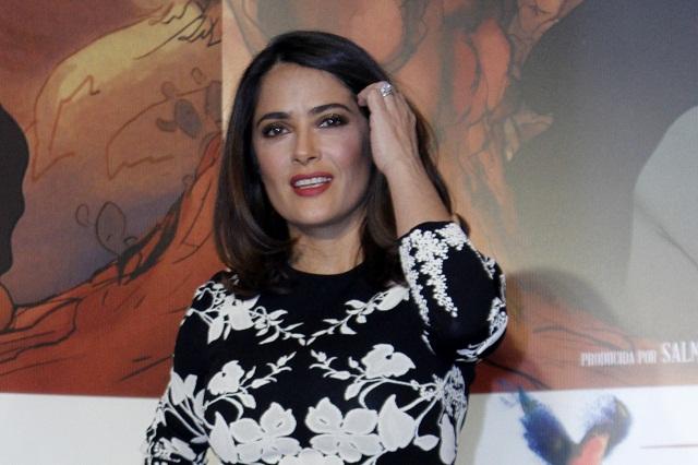 Salma Hayek muestra foto junto a Luis Miguel