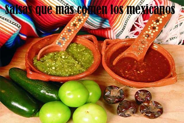 Los mexicanos son muy salsas a la hora de comer