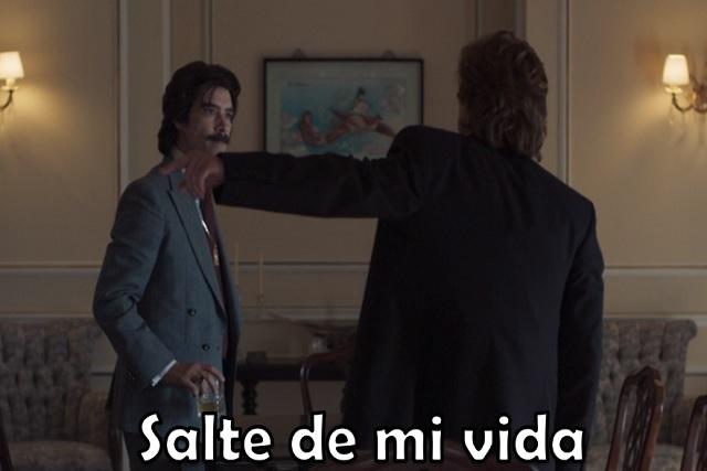 """""""Salte de mi vida"""" el meme que nos dejó el séptimo capítulo de Luis Miguel"""