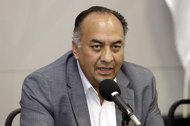 David Méndez también protesta por candidaturas en Morena