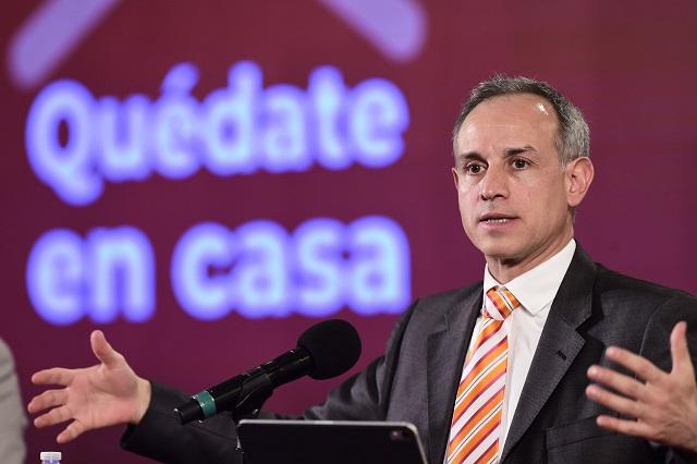 López-Gatell vuelve a felicitar a Puebla por control de Covid-19