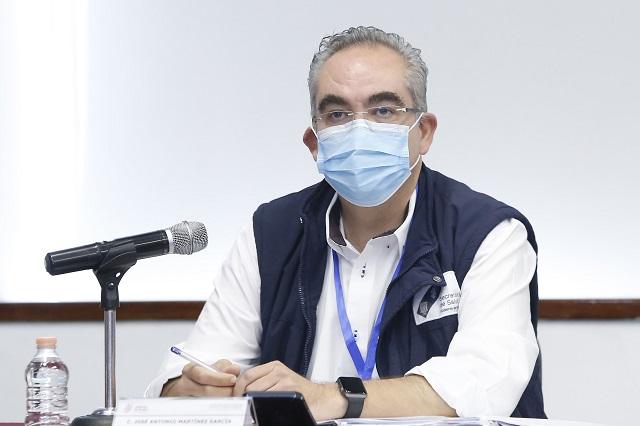 En 4 días de Covid, 126 muertes y 948 contagios en Puebla
