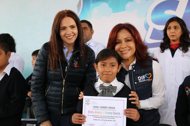 Dinorah López de Gali pone en marcha semana de salud bucal
